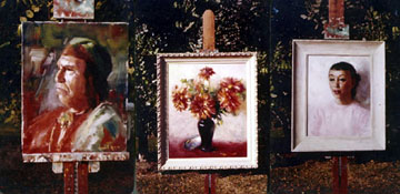 [photo of paintings]