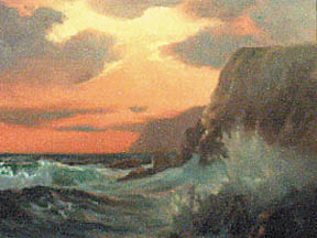 Vernon Kerr California Artist Paintings Seascapes